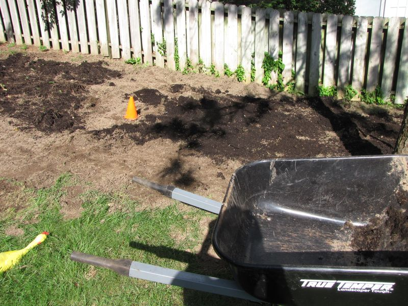 Working in compost 007