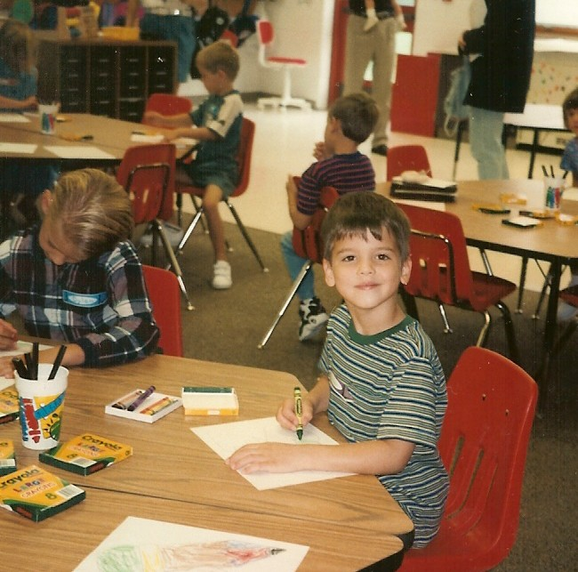 Brian first day of K