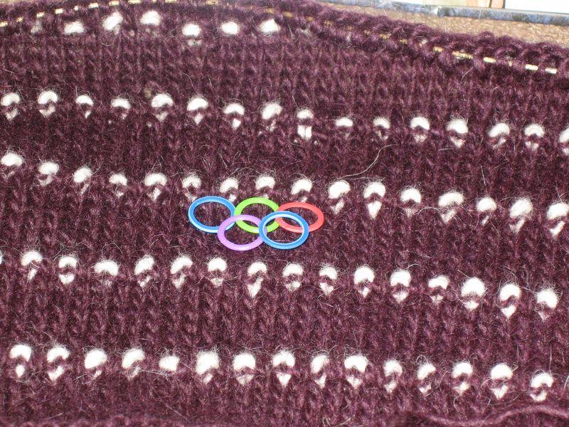 Knitting Olympics Sweater