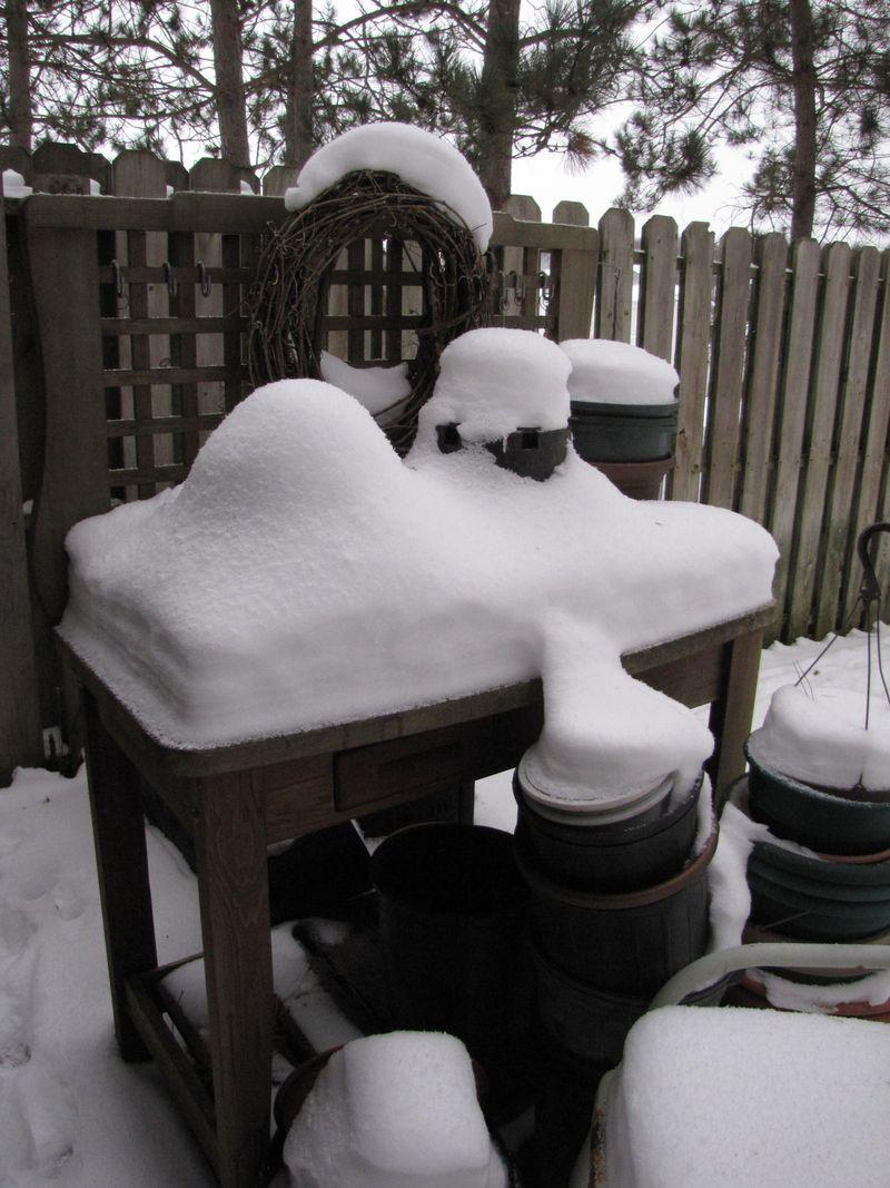 Snowy work bench 002