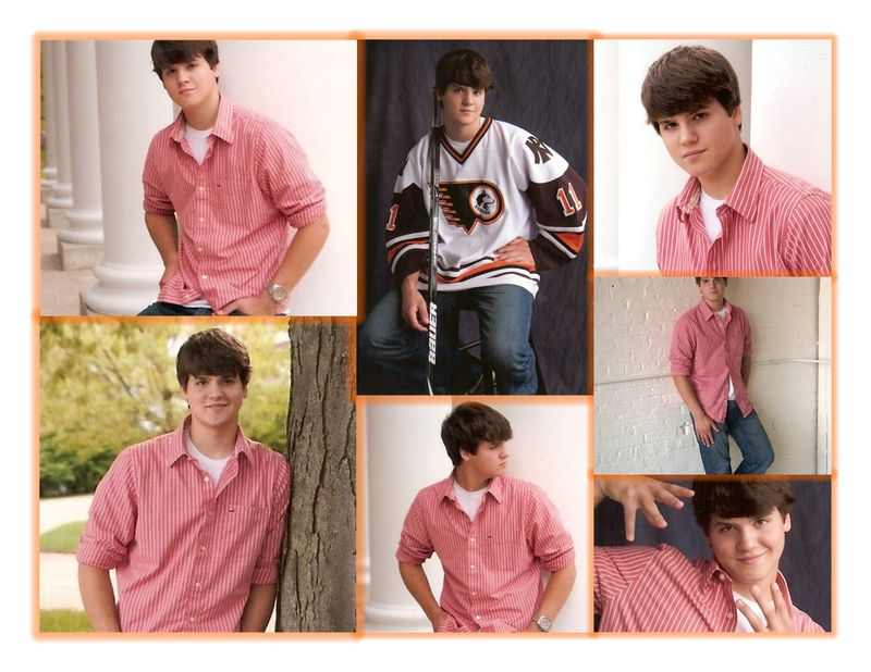 Senior pics color