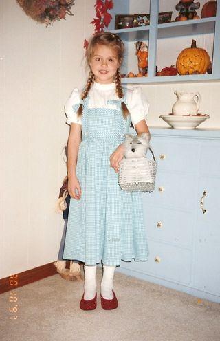 Erin as dorothy