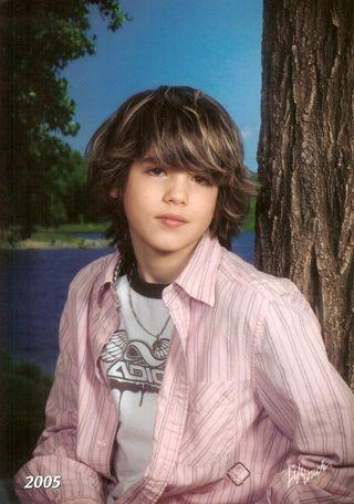 Brian in 7th grade