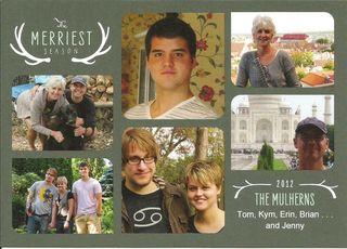 Mulhern Xmas Card 2012