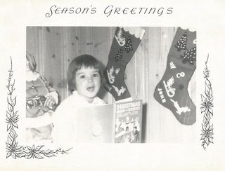 Little Kym Xmas Card