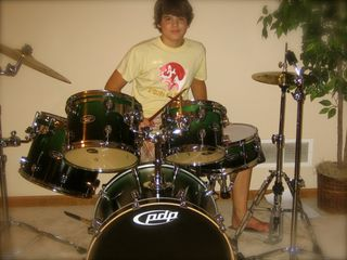 2006 new drum set