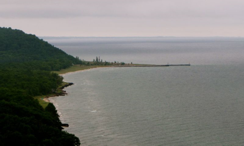 Lake Michigan Coastline