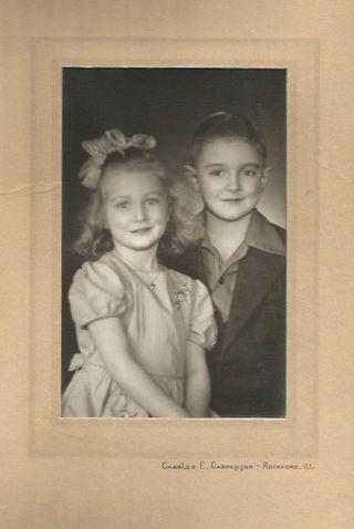 Dad and Aunt Nancy