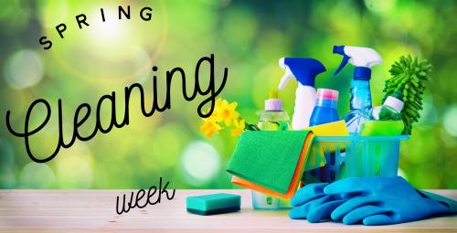 Spring Cleaning Week