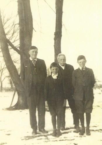 Lester Robert Harley Dean circa 1922